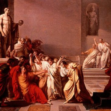 Camuccini, Death of Julius Caesar