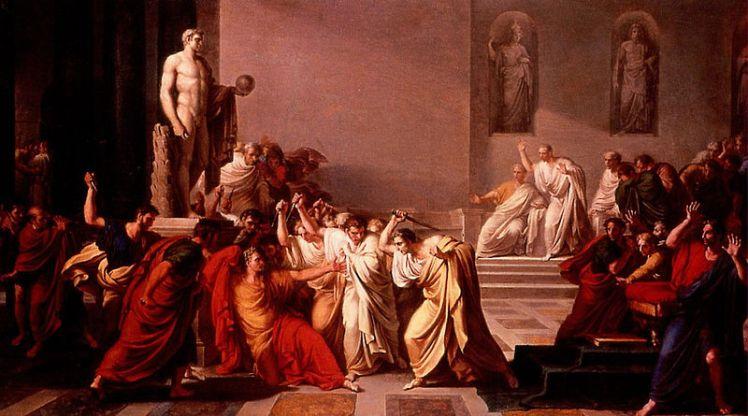 Camuccini, Death of Julius Caesar