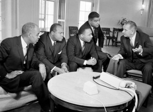 LBJ, MLK, and others
