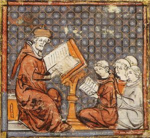 Scholastic teaching at the University of Paris in 14th century