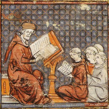 Scholastic teaching at the University of Paris in 14th century