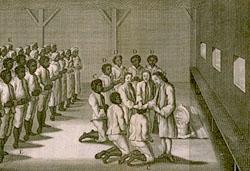 An Afro-Moravian baptism, 1757