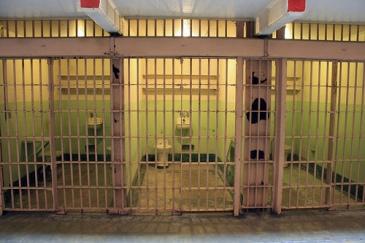 Cells at Alcatraz Prison