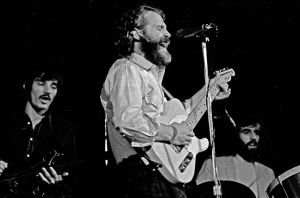 Levon Helm, with Rick Danko and Richard Manuel