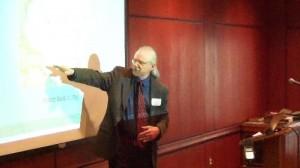 Jon Sensbach at the Inaugural Bethel Colloquium on Pietism Studies, 4/20/12