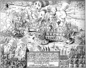 The sack of Magdeburg, 1631
