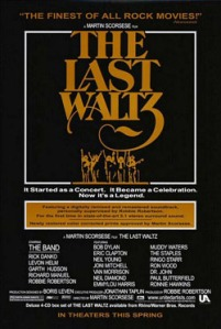 The Last Waltz (2002 re-release poster)