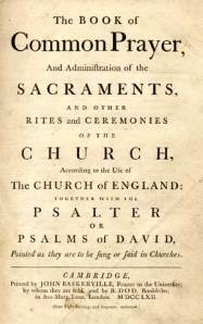 1662 Book of Common Prayer