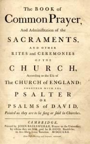 1662 Book of Common Prayer
