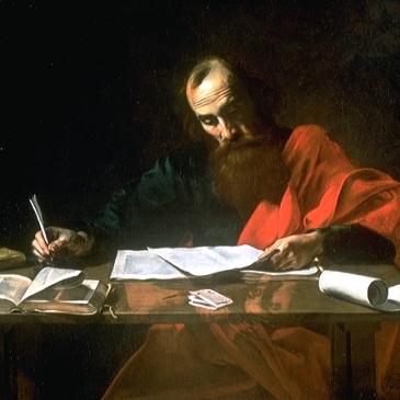 Boulogne, St. Paul Writing His Epistles