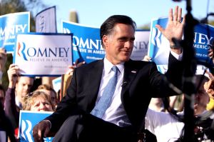 Romney Rally in Arizona, 2011
