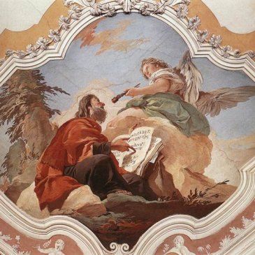 Tiepolo, The Calling of Isaiah
