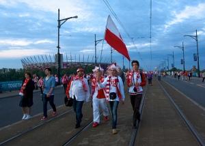 Polish Fans at Euro 2012