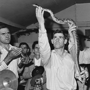 Snake-handlers in Kentucky, 1946