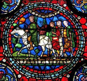 Pilgrims on the Road to Canterbury