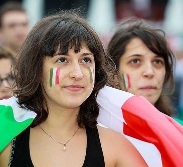 Italian Fan, Euro 2012