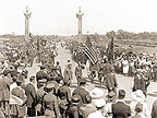 1921 Dedication of Victory Memorial Drive