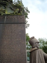 Detail of the Soldiers and Sailors Monument