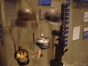 German and French Helmets from WWI