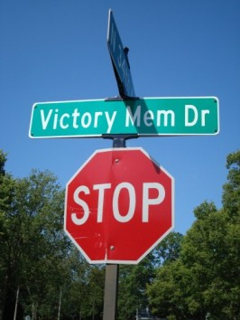 Victory Memorial Drive in Minneapolis