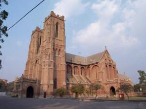 Anglican cathedral in Lahore