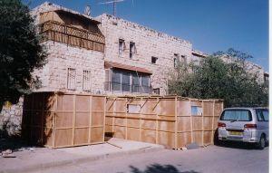 Sukkahs in Jerusalem