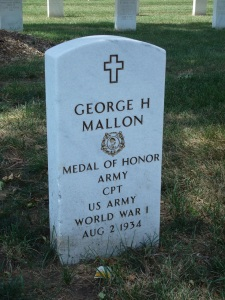 Mallon's Grave at Fort Snelling National Cemetery