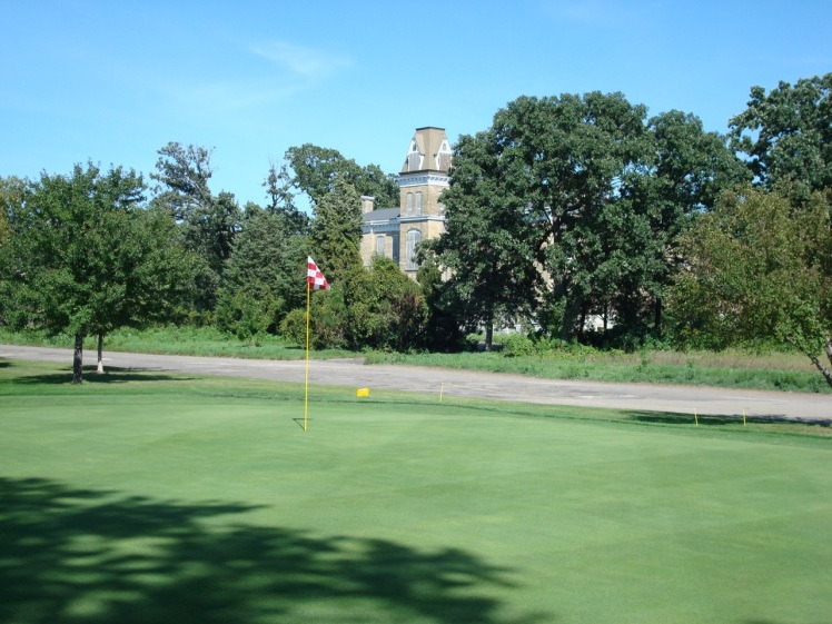 View of Upper Post from the Fort Snelling golf course