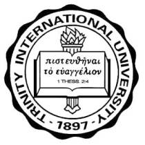 Seal of Trinity International University