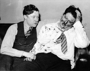 Walter Reuther and Richard Frankensteen, 1937
