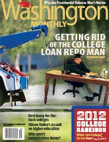 Washington Monthly College Guide, 2012