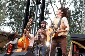 The Avett Brothers in 2009