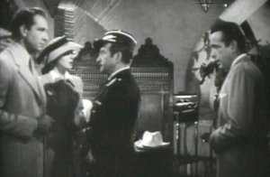 Screenshot from the trailer for Casablanca