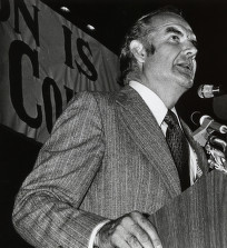 McGovern campaigning in 1972