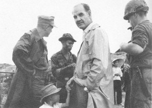 McGovern visiting South Vietnam in 1965