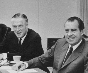 George Romney and Richard Nixon, 1969