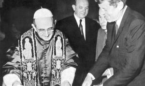 Pope Paul VI and JFK