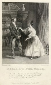 Image from 1833 edition of Pride and Prejudice