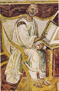 6th century image of Augustine