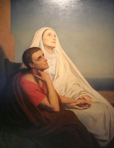 Scheffer, St. Augustine and St. Monica