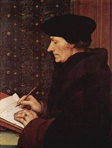 Erasmus by Holbein the Younger