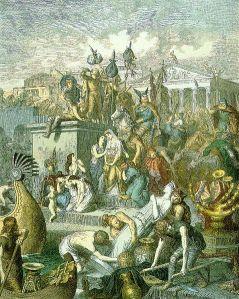 Leutemann, Vandals Plundering Rome