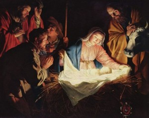 Honthorst, Adoration of the Shepherds