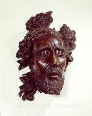 Sculpted head of John the Baptist