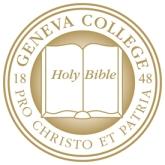 Logo of Geneva College