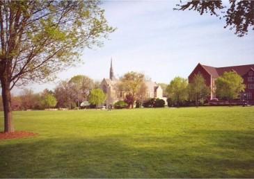 Grove City College central quad