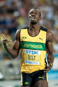 Usain Bolt in 2011