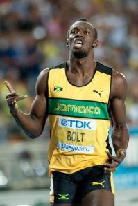 Usain Bolt in 2011