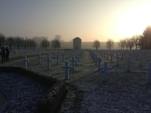 American Somme Cemetery at Bony, France