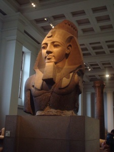 Bust of Ramesses II at the British Museum